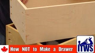 getlinkyoutube.com-How NOT to Make a Drawer