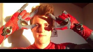 the amazing spiderman web shooters y mas...