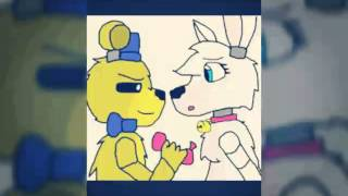 getlinkyoutube.com-Mangle x golden Freddy close your eyes
