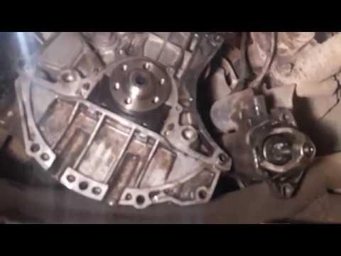 Расположение сальника полуоси в Audi 45