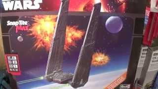 getlinkyoutube.com-Revell Star Wars Force Awakens Kylo Ren Command Shuttle model kit review