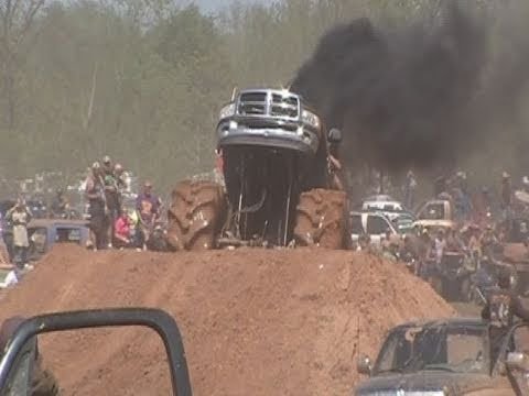 MEGA TRUCKS GONE WILD - MUDFEST COMPILATION!