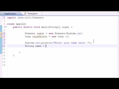 Java Programming Tutorial - 15 - Use Methods with Parameters
