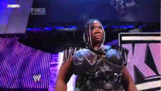 getlinkyoutube.com-WWE SmackDown 05/06/11 Layla vs Alicia Fox-Kharma Debuts on SmackDown