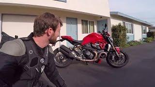getlinkyoutube.com-MC Commute - 2016 Ducati Monster 1200 R