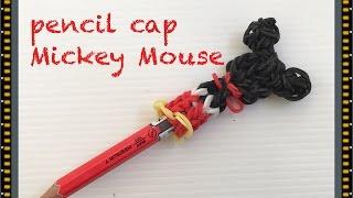 getlinkyoutube.com-FUN LOOM Mickey Mouse pencil cap  ファンルーム ミッキーマウス