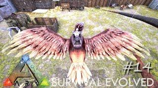 getlinkyoutube.com-ARK: Survival Evolved - LVL 100+ ARGENTAVIS TAMING !!! - [Ep 14] (Server Gameplay)
