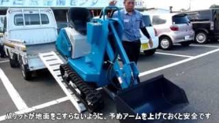 getlinkyoutube.com-超小型!ヤマグチ ショベル付動力運搬車 YXS-111X
