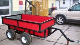 getlinkyoutube.com-Build an ATV Tub Trailer with a Walking Beam Suspension
