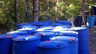 getlinkyoutube.com-Plastic Barrels for a Floating Dock—how many are needed?