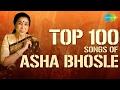 Asha Bhosle - Top 100 Songs | One Stop Audio Jukebox