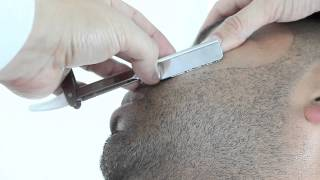 getlinkyoutube.com-How to do a Straight Razor Shave and Beard Trim by Pacinos The Barber
