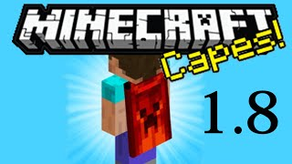 getlinkyoutube.com-How to Get a Cape 1.8 Minecraft!!!! (You don't have to download anything!)