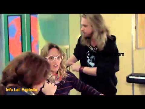 Infraganti, Dani y Rolo a los besos - Escenas Daniela - cap 124 (Lali Espósito)