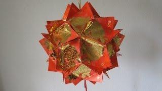 getlinkyoutube.com-CNY TUTORIAL NO. 10 - Chinese New Year Red Packet (Hongbao) Lantern