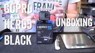 GOPRO HERO5 BLACK UNBOXING!