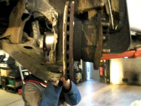 ford transit front hub wheel bearing removal