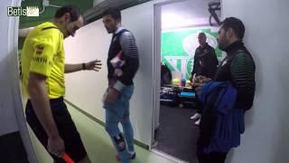 La victoria ante el Girona FC empezó en el túnel de vestuarios (Vídeo) #GoProBetis