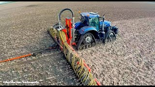 getlinkyoutube.com-New Holland T7.270 Blue Power on Soucy Tracks | Injecting slurry w/ umbilical system | LB Breure
