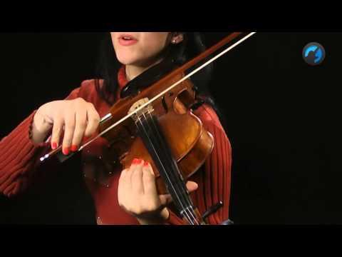 Exerc�cio de Cordas Soltas (como tocar - aula de violino)