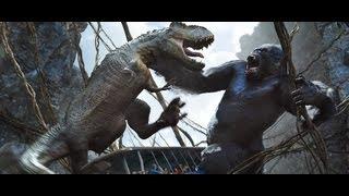 getlinkyoutube.com-AMAZING King Kong: 360 3D at Universal Studios
