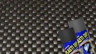 Create Carbon Fiber Look with Plasti Dip