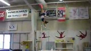 gymnastics with my cast on haha