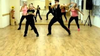 getlinkyoutube.com-Zumba - Wisin - Corazón Acelerao Zumba Choreography LopDance