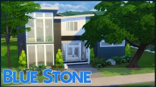 The Sims 4 Speed Build - Blue Stone