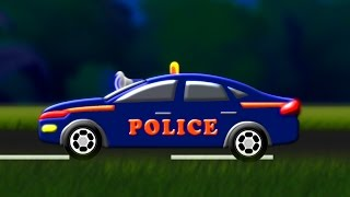 getlinkyoutube.com-Police Chase | Police Car For Children | Kids Toys