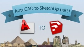 getlinkyoutube.com-AutoCAD to SketchUp part1