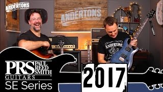getlinkyoutube.com-PRS SE Custom - New Guitars for 2017