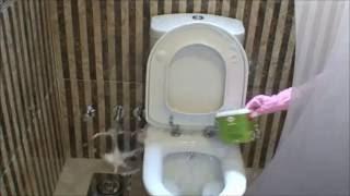 getlinkyoutube.com-ميه وصابون - تنظيف عميق لقاعدة التواليت - تنظيف الحمام بعمق