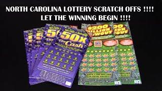getlinkyoutube.com-NORTH CAROLINA LOTTERY SCRATCH OFFS !! LET THE WINNING BEGIN !!