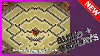 getlinkyoutube.com-THE BEST TH10 WAR BASE!! ANTI-EVERYTHING! Build+Replays | The Sparrow | Clash Of Clans