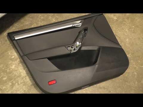 Skoda Octavia A7 - как снять обшивку передней двери