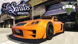 getlinkyoutube.com-شروحات قراند 5 | كيف تفتح كل تضبيط السيارة GTA V