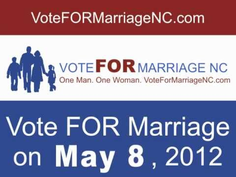 Protect Marriage in NC on May 8th - 48sec. version