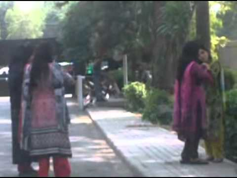 gc university lahore girls video part 3