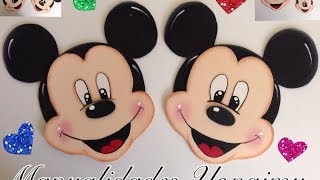 getlinkyoutube.com-MICKEY MOUSE HECHO CON FOAMY O GOMA EVA