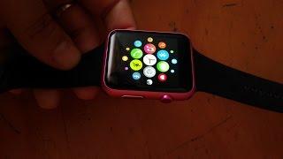 getlinkyoutube.com-MTK2502c Iwo 1:1 smartwatch CLON DE APPLE WATCH en español