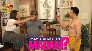 On Location Of TV Serial 'May I Come In Madam'