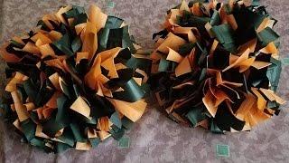 getlinkyoutube.com-DIY: Cheer Pom Poms