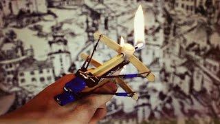 getlinkyoutube.com-Как сделать двуствольный арбалет с зажигательными стрелами