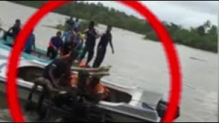 Three bodies recovered after raft topples in Matara