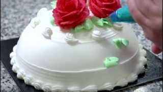 getlinkyoutube.com-Cake decoration with Ambiante non-dairy cream