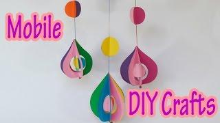 getlinkyoutube.com-DIY crafts : Decorative Mobile - Ana | DIY Crafts