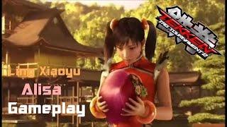 getlinkyoutube.com-Tekken Tag Tournament 2:Ling Xiaoyu/Alisa Gameplay