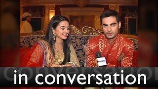 getlinkyoutube.com-Helly and Varun aka Swara and Sanskar of Swaragini in conversation with Tellybytes