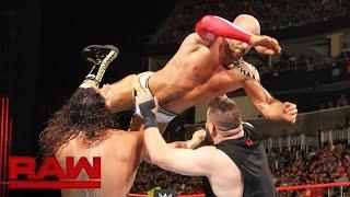 getlinkyoutube.com-Cesaro vs. Finn Bálor vs. Rusev vs. Kevin Owens - Fatal 4-Way Match: Raw, July 25, 2016
